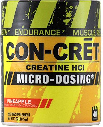 Con-Cret Creatine HCL, Pineapple 1.84 oz