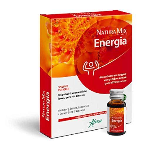 Natura Mix Advanced Energia per Adulti concentrato fluido 10 flaconcini ABOCA