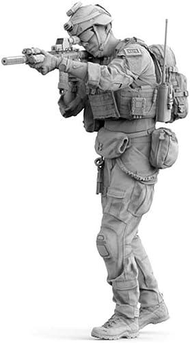 SDBRKYH Figurine d'action de Forces spéciales, Opérations spéciales des Forces armées Modernes de l'armée, Soldat, modèle en résine Blanche, modèle 1 16