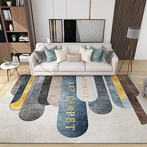 Antideslizante Alfombra Jardin Exterior Patrón geométrico Beige Gris Amarillo Azul Negro marrón alfombras de habitacion 150X200cm