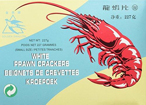 Ou Jiang Kroepock weiß klein, 15er Pack (15 x 227 g)
