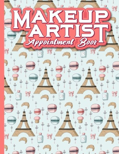 Makeup Artist Appointment Book: 7 Columns Appointment Organizer, Client Appointment Book, Scheduling Appointment Calendar: 16