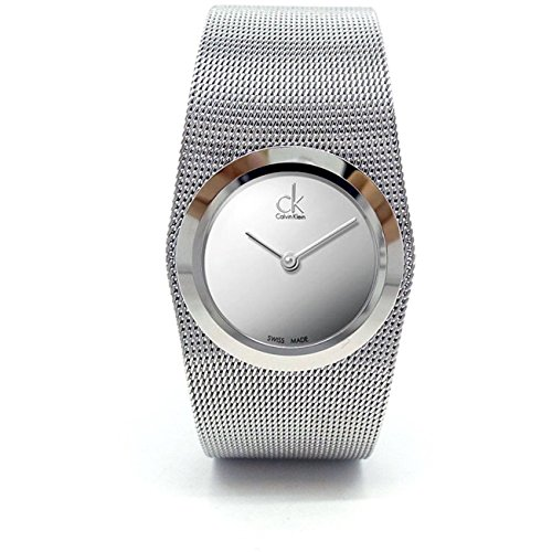 Calvin Klein Reloj Analógico para Mujer de Cuarzo con Correa en Acero Inoxidable K3T23128