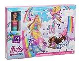 Barbie Dreamtopia Calendario de adviento, muñeca...