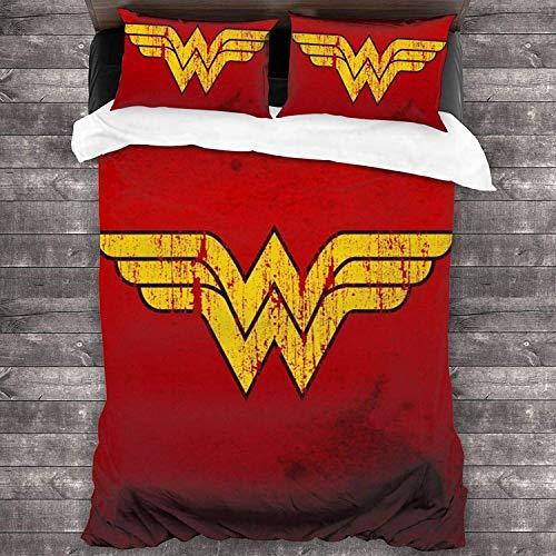 copripiumino wonder woman Set di biancheria da letto Wonder Woman