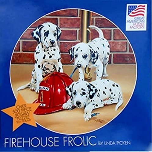 Firehouse Frolic By Linda Picken by Great American Puzzle Factory