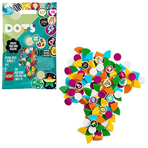 LEGO 41932 Dots Extra: Edición 5, Manualidades y Juegos Creativos para Niños con Cuentas para Pulseras DIY