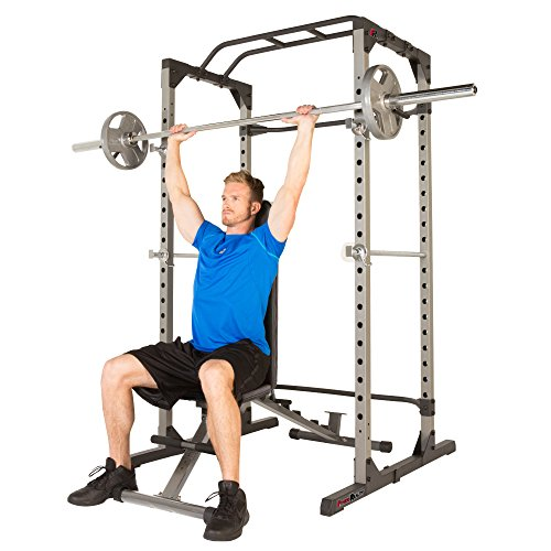 Product Image 11: Fitness Reality 810XLT Super Max Power Cage | Optional Lat Pull-down Attachment and Adjustable Leg Hold-down | Power Cage Only
