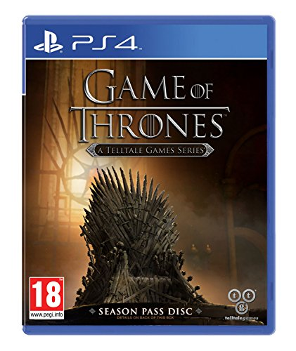 Game of Thrones - A Telltale Game: Season Pass Disc (PlayStation 4) [UK IMPORT]