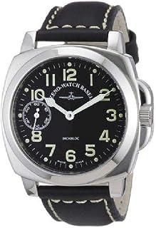 Zeno - Watch Reloj Mujer - Square Pilot Winder - 3558-9-a1