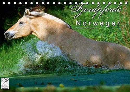 Fjordpferde - Norweger (Tischkalender 2016 DIN A5 quer): Kalender Fjordpferde / Norweger (Monatskalender, 14 Seiten ) (CALVENDO Tiere)