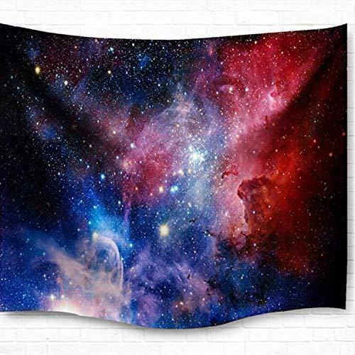 Dremisland Star Galaxis Tapisserie Wandteppich Tapestry Sandy Beach Handtuch Yoga Mat Wand Picknick Decke Strand Tuch Wandtuch Wandbehang (M/203X153cm(80X60 inch))