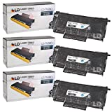 LD Compatible Toner Cartridge Replacement for Brother TN-360 High Yield (Black, 3-Pack)