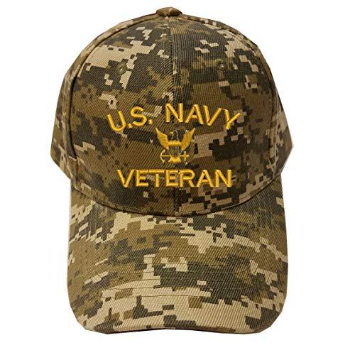 MILITARY Navy U.S. Navy Veteran Digital Camo Baseball Cap Hat