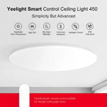 Smart Remote Controlled Ceiling Light Dimmable Tunable Wi-Fi Lamp Dust-Proof Insect Resistant Works with Assistant Alexa B...