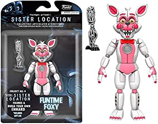 Funko Five Nights at Freddy's Funtime Foxy Articulated Action Figure, 5