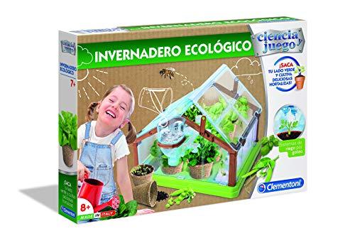 Clementoni Ciencia y Juego- Invernadero Ecológico, Multicolor (55375)