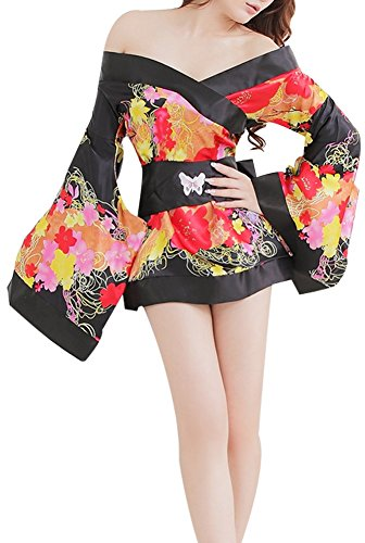 paplan Traje de Cosplay del Estilo Encantador Kimono japonés