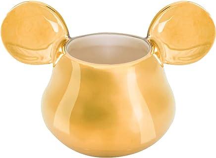 Preisvergleich für Joy Toy 62152 MICKEY MOUSE DELUXE 3D GOLDIGER EIERBECHER 11X7X7 CM gold