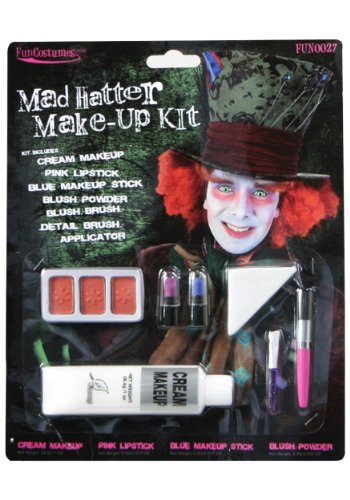 Deluxe Mad Hatter Make-Up (Standard)