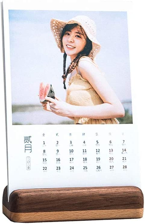 Desk Arlington Mall Calendars Wooden Calendar Custom Baby H 2021 Photo Max 76% OFF DIY