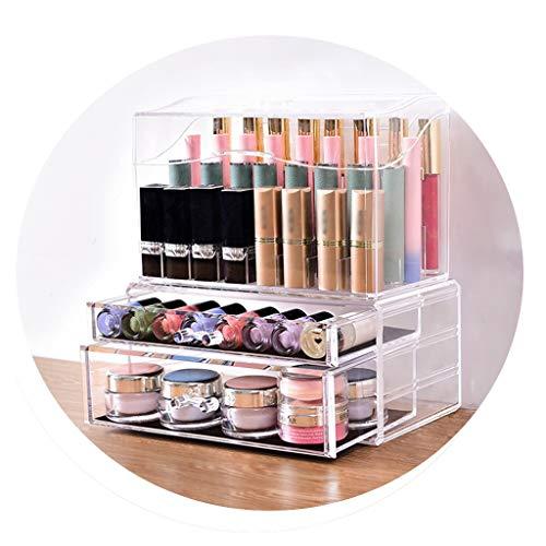 MY TIDY Make-up-Organizer, Schubladen-Badaccessoires, staubdichter Schreibtisch-ordentlicher Schreibtisch-Organisator (größe : C)