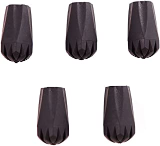 Montem Trekking Pole Tip Protectors/Hiking Pole Replacement Tips - Fits All Standard Hiking/Trekking/Walking Poles - Pack of 5 Crafted