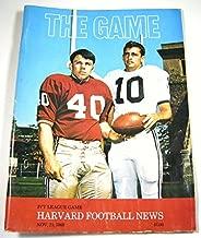 The Game: Harvard Official Program (November 23, 1968, Vol. 40 No. 7) (Football)