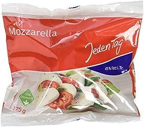 Jeden Tag Mozzarella 45%, 125 g