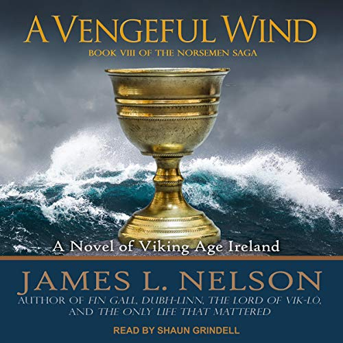 A Vengeful Wind audiobook cover art