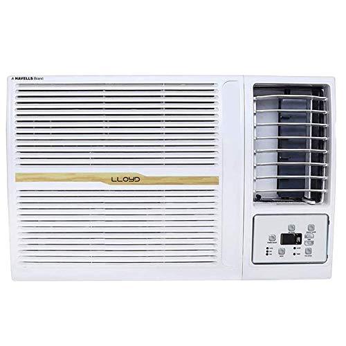 Lloyd 1.5 Ton 5 Star Window AC (Copper, Clean Air Filter, 2021 Model, GLW18B52WBEW, White)