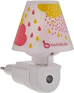 Badabulle B015010 - Lámpara de noche, color rosa