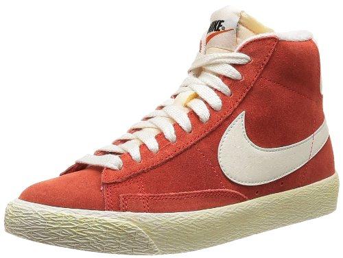 Nike, Wmns Blazer Mid Suede VNTG, Scarpe Sportive, Donna, Rosso (LT Crimson/Sail), 41