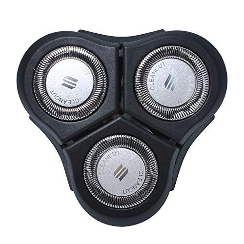 Poweka RQ11 Ersatzköpfe für Phi-lips Norelco Senso Touch 2D RQ11 Serie RQ1150 RQ1160 RQ1180 RQ1175 RQ1195 ersatzteil 3D Scherköpfe
