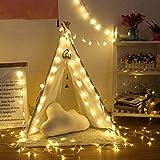 LED garland holiday copo de nieve cadena de luz cuento de hadas árbol de navidad decoración de fiesta cadena de luz batería 3m30 leds