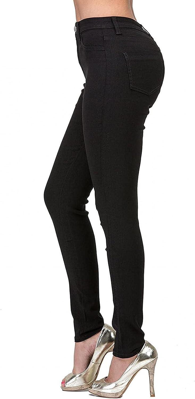 Lovor Women's Casual Straight Pants Slim Cotton Blend Pants Ladies Regular Fit Straight Leg Pant Trousers Tummy Control Pant