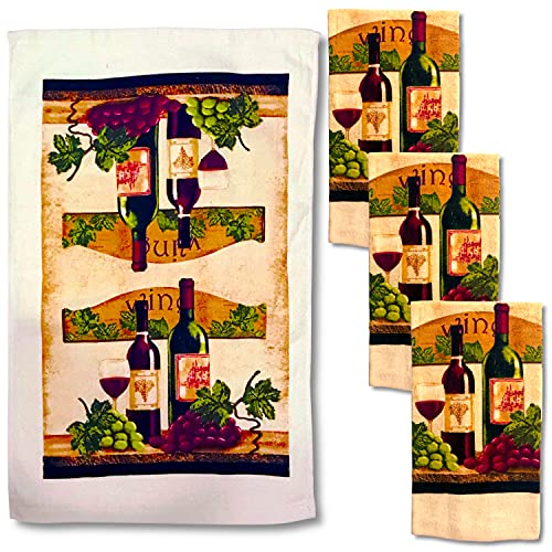 Top 10 Best Selling List for kitchen towels wine