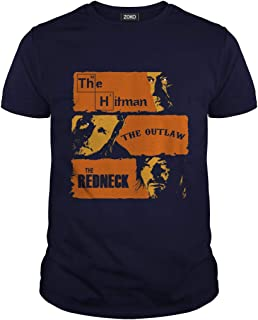The Hitman The Outlaw and The Redneck T-Shirt