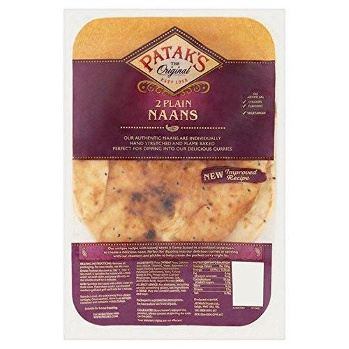 Patak Der Ebene Naans 2 Pro Packung (Packung mit 6)
