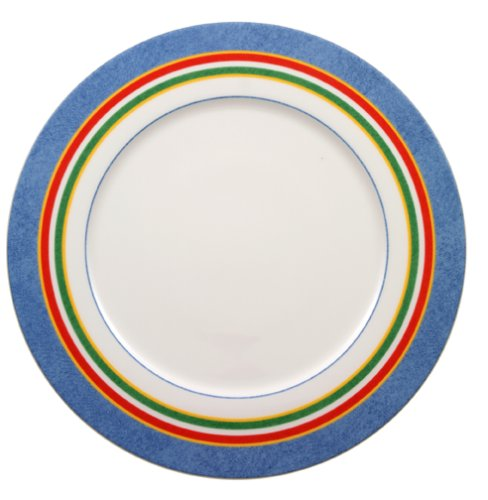 Villeroy & Boch Tipo Viva Accents Key Biscayne Striped Buffet Plate