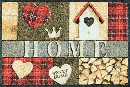 Kleen-tex Komfortmatte Cottage Home 50 x 75 cm wash + dry by KleenTex
