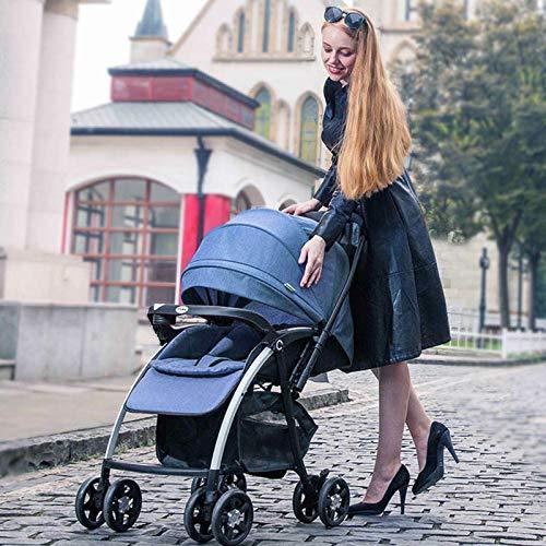 Peps Buggy mit Sonnenverdeck,London Up Buggy,Leicht Kinderwagen,4-Rad Schwenkbar Kinderwagen Buggy Faltbar Babyschale Pram Baby Pushchair 25kg,kompakt zusammenfaltbar