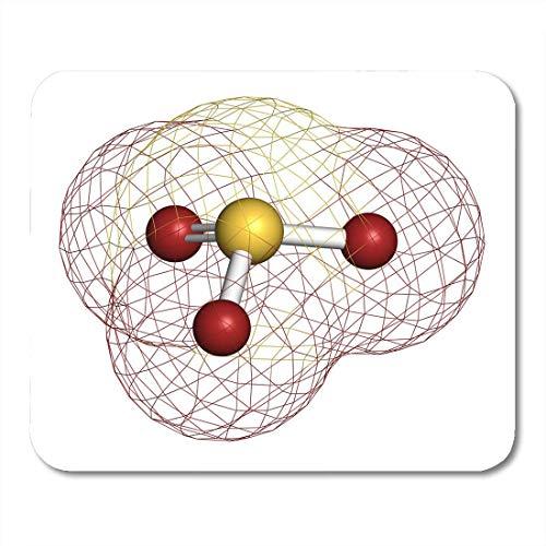 Mauspads Sulfitanionen Chemische Struktur Salze sind gängige Lebensmittelzusatzstoffe Mauspad für Notebooks, Desktop-Computer-Matten Büromaterial