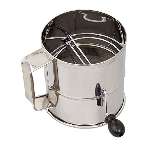 Browne 8-Cup Stainless Steel Flour Sifter