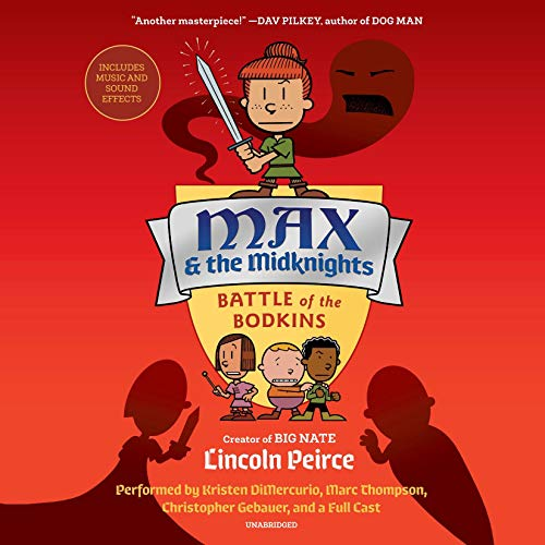 Max and the Midknights: Battle of the Bodkins  By  cover art