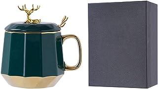 Coffee Mugs القهوة القدح السيراميك للقهوة، مجموعة القهوة الدقيقة كوب الشاي القدح مجموعة، ومشروبات مهدها، هدايا فريدة من نو...