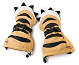 Veyo Kids - Tiger Paw Mittyz - Waterproof Kids Mittens | Toddler Gloves | Easy on, Stay on, | Perfect for Snow Skiing, Sledding, and Winter Play (Medium 2-4 Years)