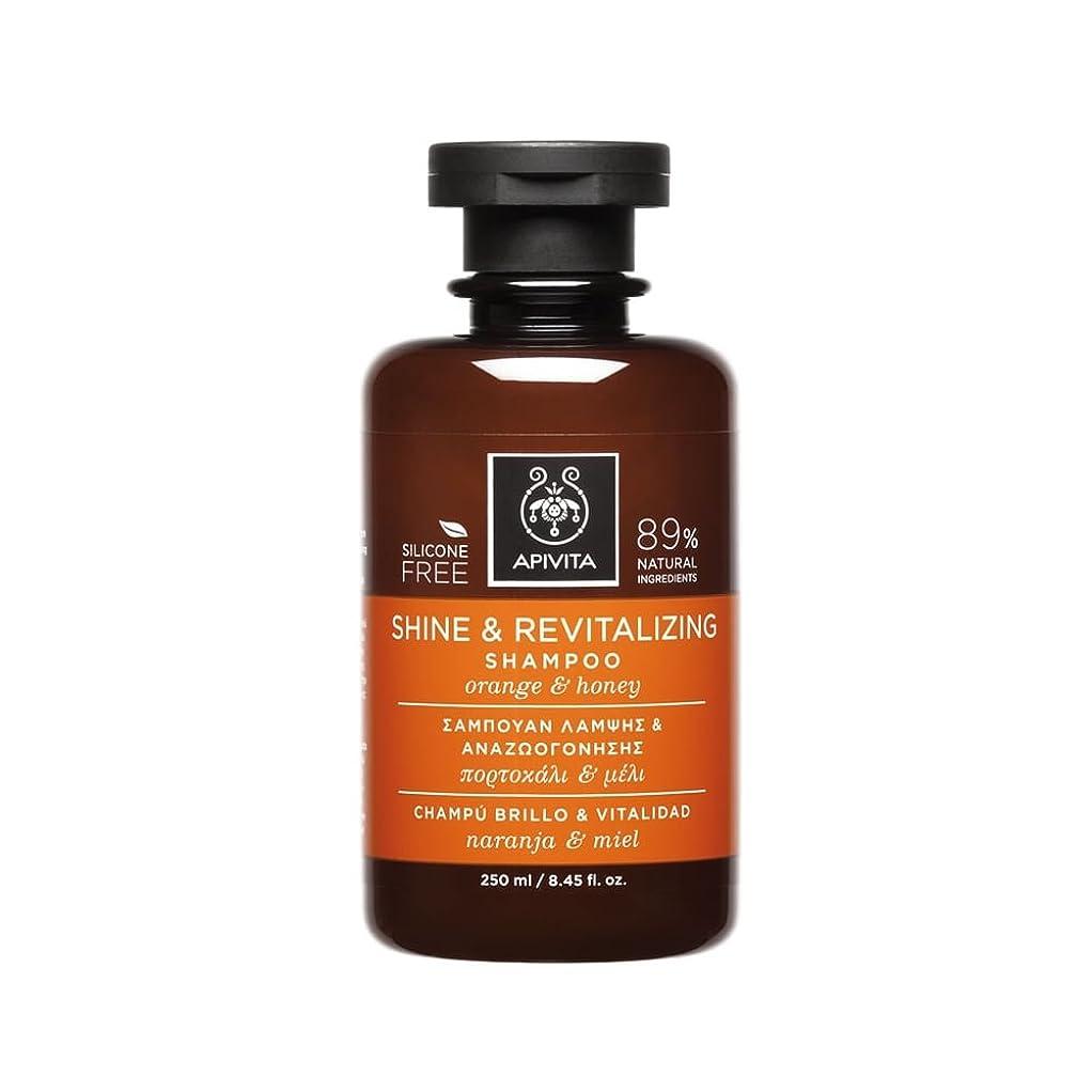 決して保持するページアピヴィータ Shine & Revitalizing Shampoo with Orange & Honey (For All Hair Types) 250ml [並行輸入品]