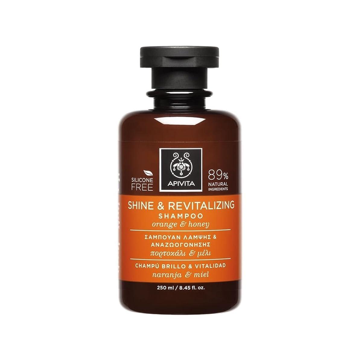 効能ある野心的宝石アピヴィータ Shine & Revitalizing Shampoo with Orange & Honey (For All Hair Types) 250ml [並行輸入品]