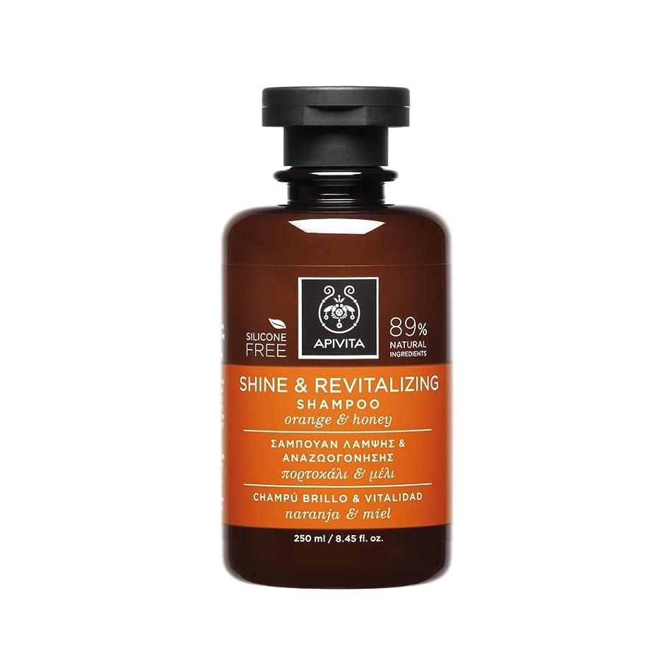 デッキしなやかなオッズアピヴィータ Shine & Revitalizing Shampoo with Orange & Honey (For All Hair Types) 250ml [並行輸入品]